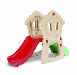 Slide w Climber for Kids Outdoor Toy Hide and Seek Play Little Tikes New!