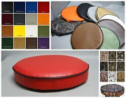 Bar Stool Cover pub kitchen snack replacement  vinyl or camo  in 25 colors (W) $12.00