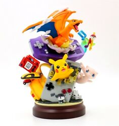 Anime Pokemon Charizard pikachu Mew PVC Figure Resin GK Statue Toy New No Box