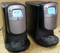 LOT OF 2 FLAVIA CREATION 400 DRINKS STATION MACHINES ! PLEASE READ !    W