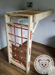 Wooden home folding playground! Best for kids! Safe and fantastic Fun!