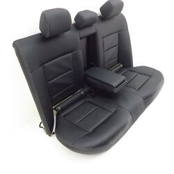seat bench Mercedes Benz E-class W212 rear bench seat leather black