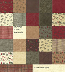 FROSTED FLANNELS Charm Pack from Moda - (42) 5