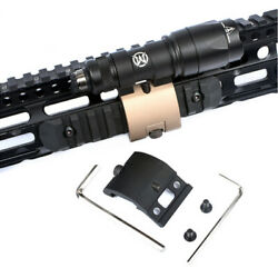 Tactical Flashlight Mount For M300 M600C Scout Light For 20mm Picatinny Rail $10.99