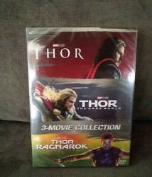 THOR 3-Movie Collection Ragnarok Dark World [DVD Set] 1-3 Complete