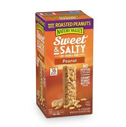 Nature Valley Sweet and Salty Nut Granola Bars Peanut Snack Bars 36 ct. $16.98
