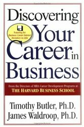 Discovering Your Career in Business by Butler Timothy Paperback Book The Fast