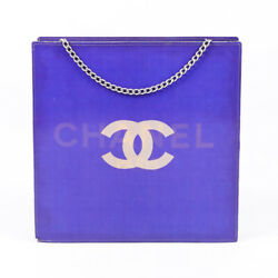 Chanel Vinyl CC Logo Shoulder Bag