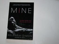 MINE by HelenKay Dimon - paperback 2015 - Erotic Romance What she's willing