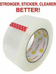 36 ROLLS HEAVY DUTY PACKING TAPE  2.7 MILS EXTRA THICK STRONG 2