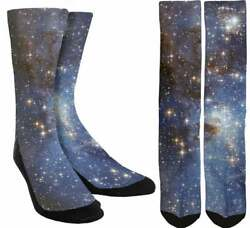 Galaxy Socks Universe Socks Space Socks Star Socks Cool Unisex Socks A95 $14.99