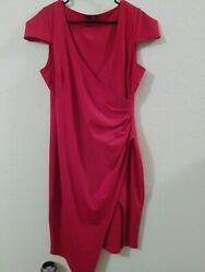 Boohoo Night Womes's red Cocktail Dress Size 12 $24.99