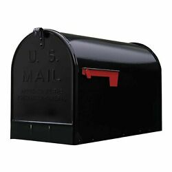 GIBRALTAR JUMBO POST MOUNT MAILBOX Galvanized Steel Extra Large Rural Mail Box $32.97