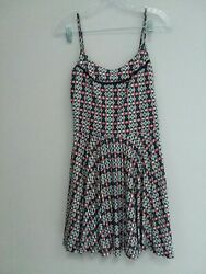 NWT MNG By Mango Women's Size M SPEGGTI STRAP Summer Dress $12.00