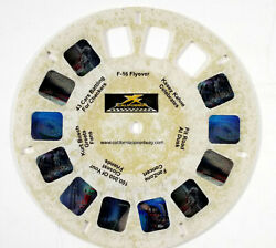 View-Master reel commercial - California Speedway plastic reel - sh $5.95