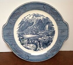 Currier and Ives by Royal China platter