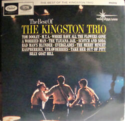 Kingston Trio - The Best Of The King - ID34z - T 1705 - vinyl LP