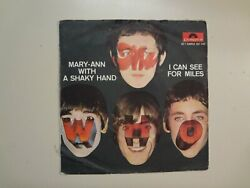 WHO: I Can See For Miles Mary Anne w The Shaky Hands France 7quot; 1967 Polydor PSL $98.98