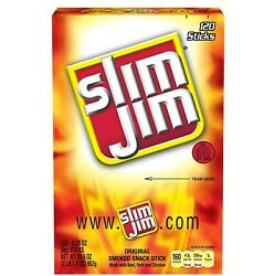 Slim Jim Original 120 ct. $24.98