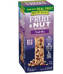 Nature Valley Fruit and Nut Chewy Granola Bars Trail Mix Snack Bars 48 ct. $21.99