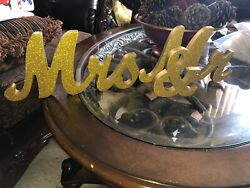 mramp;mrs wedding table decoration. $10.00