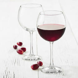 Libbey Midtown Red Wine Glasses Set of 8 $20.99