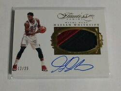 R17784 - HASSAN WHITESIDE - 201516 FLAWLESS - AUTOGRAPH PATCH - #1225 -