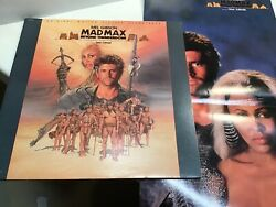 Mad Max Beyond Thunderdome  Near Mint Vinyl  With Poster  Tina Turner