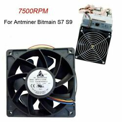 Universal Cooling Fan Cooler Replacement 4-Pin Connector for Antminer Bitmain S7