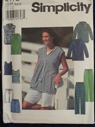 SIMPLICITY 8172 Top Pants Shorts & Knit Tank Top PATTERN 12-14-1618-20-22 UC