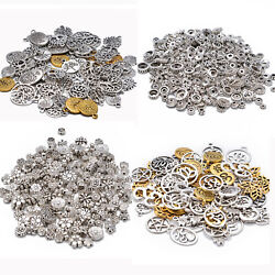 100g Tibetan Silver Mixed Spacer Beads Charms Pendant Bali Style DIY for Jewelry $6.64