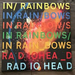 Radiohead - In Rainbows 180 Gram Vinyl LP Black Sealed New