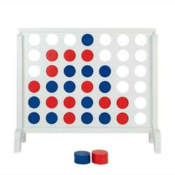 Large Connect 4 Four In A Row Board Game Family Party Travel Outdoor Garden Toy