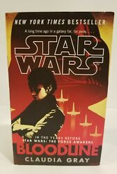 Star Wars Bloodline by Claudia Gray Paperback Very Good Condition