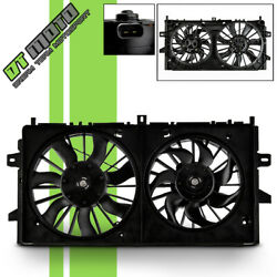 Radiator & Condenser Cooling Fan For Chevy Impala Monte Carlo LaCrosse GM3115187 $78.96
