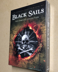 BLACK SAILS the Complete Series Collection Seasons 1-4 on DVD - Season 1 2 3 4