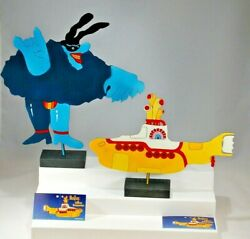 Beatles Metal Sculpture Art Yellow Submarine Blue Meanie Bomberger Statue Figure