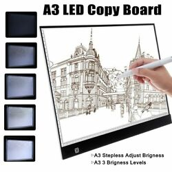 Acrylic A3A4 LED Copy Board Art Craft Drawing Tracing Tattoo LED Light Box Pad