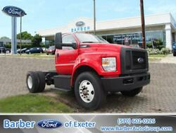 2018 Ford F-750 F-750 SD Diesel Straight Frame 0  Cab Chassis  Ford TorqShift HD
