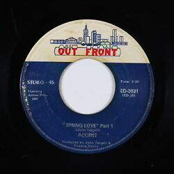 70s Soul 45 - Accent - Spring Love - Out Front - mp3