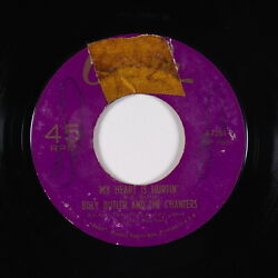 Northern Soul 45 - Billy Butler & The Chanters - My Heart Is Hurtin - Okeh - mp3