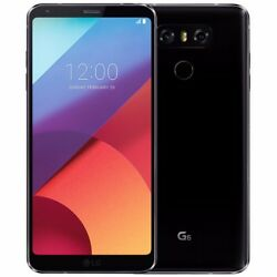 Unopened LG G6 32GB GSM 4G LTE Unlocked Android Smartphone Black AT