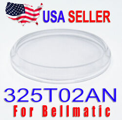 New Crystal Glass for Seiko 4006 Bell Matic 325T02AN with Low Domed Bevel Design $10.00