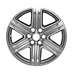 10143 Used OEM Factory Aluminum 20x8.5 Wheel Painted Silver