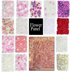 Hydrangea Artificial Fake Flower Wall Panel Bouquet for Wedding Party Home Decor GBP 15.99
