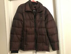 CALVIN KLEIN Mens PUFFER FULL ZIP PUFFER COAT (Great Condition)