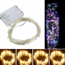 20 100 Led Battery Copper Wire String Fairy Light Strip Lamp Xmas Waterproof C $3.89