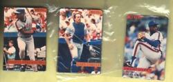 1989 Phoenix Magnet Gary Carter New York Mets Magnet (Card in Center)