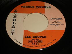 Les Cooper and the Soul Rockers: Wiggle Wobble  Dig Yourself 45
