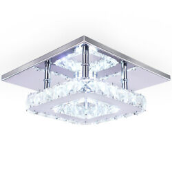 LED Crystal Ceiling Light Modern Mini Pendant Light Contemporary Pendant Light $29.99